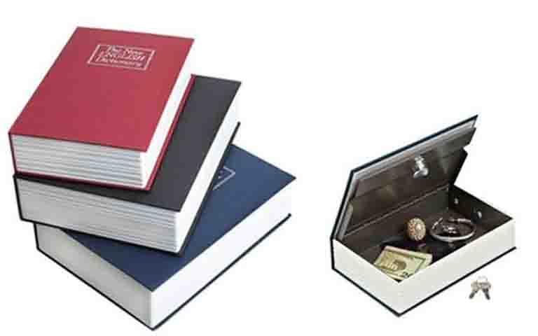Βιβλίο – Χρηματοκιβώτιο με κλειδί