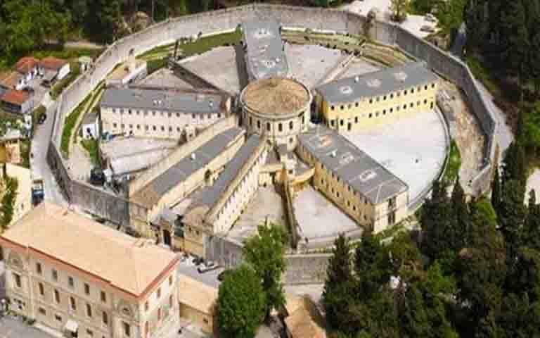 Ολόκληρο οπλοστάσιο βρέθηκε στις Φυλακές Κέρκυρας.