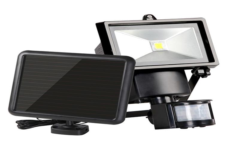 Αδιάβροχος εξωτερικός ηλιακός LED προβολέας
