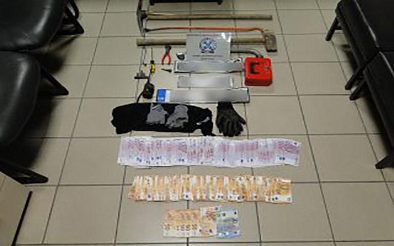 Συνελήφθησαν άμεσα (2) μέλη συμμορίας που ενέχονται σε περίπτωση ληστείας και διακεκριμένων κλοπών
