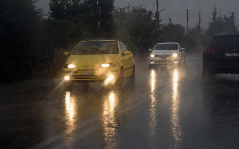 Χρήσιμες συμβουλές ασφαλής οδήγησης στα έντονα καιρικά φαινόμενα