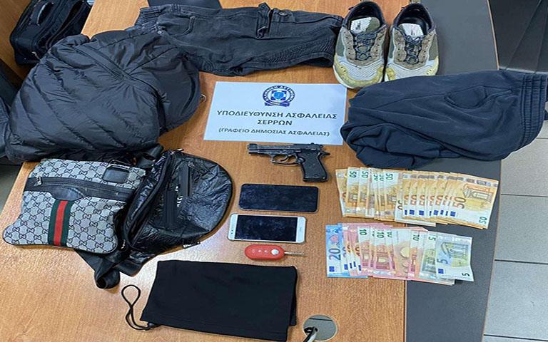 Από την Υποδιεύθυνση Ασφάλειας Σερρών εξιχνιάσθηκε ληστεία σε κατάστημα στις Σέρρες