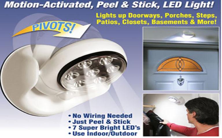 Ασύρματο Φωτιστικό LED Με Αισθητήρα Κίνησης