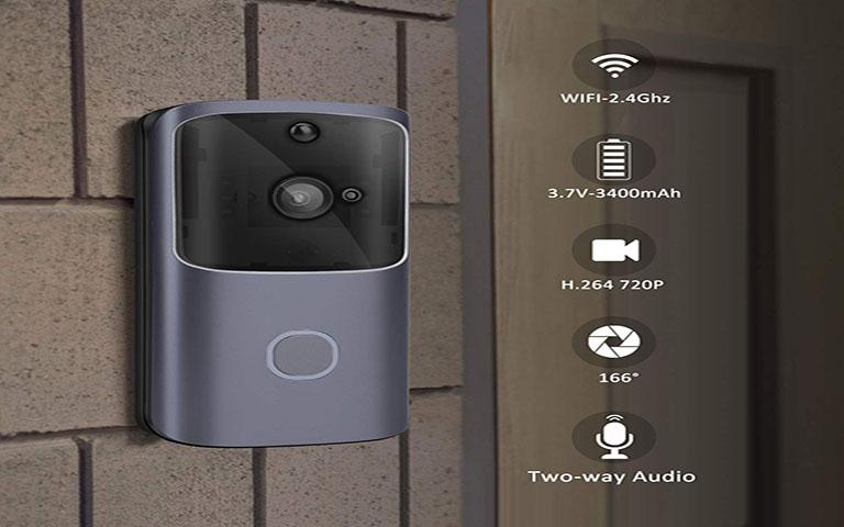 Ασύρματο κουδούνι πόρτας wifi