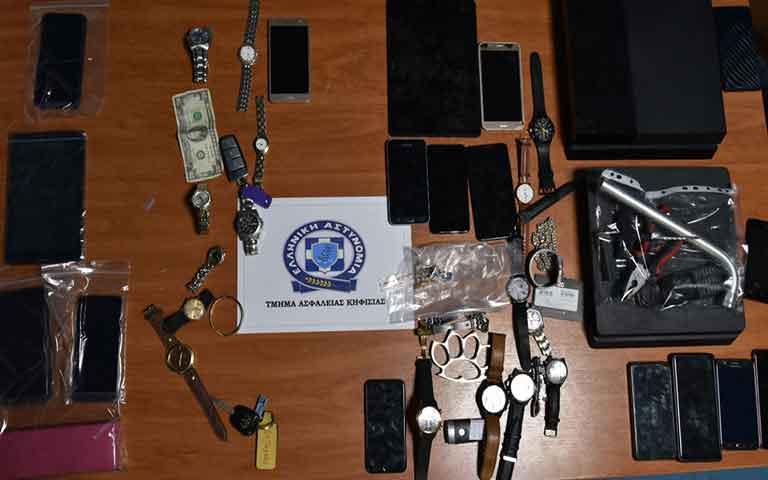 Εξαρθρώθηκε εγκληματική οργάνωση που διέπραττε ληστείες και κλοπές στην Ανατολική Αττική
