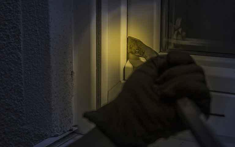 Διάρρηξη σε μονοκατοικία στο Χανόπουλο