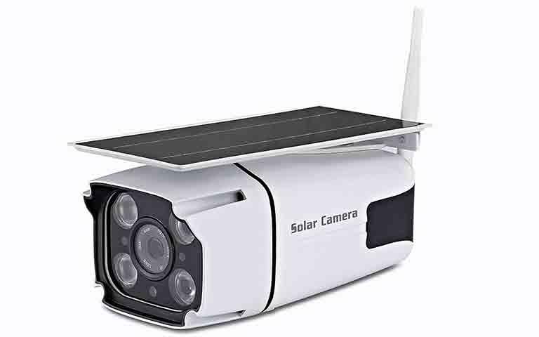 Ηλιακή Αδιάβροχη Ασύρματη IP WiFi Κάμερα