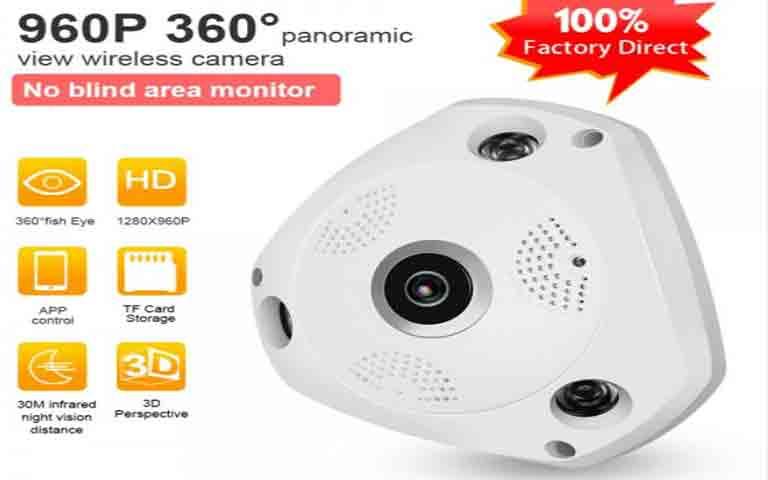 Full HD 3MP 960P 3D Κάμερα
