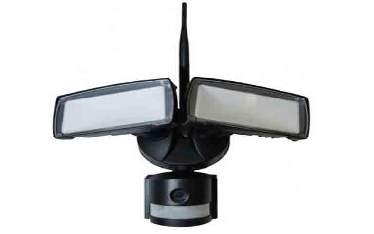 Προβολέας ασφάλειας LED 18W με WiFi Sensor camera