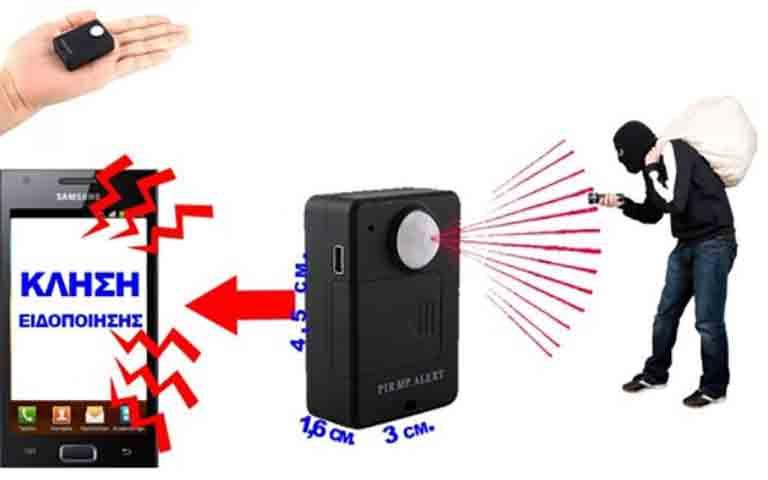 Μίνι spy gsm συσκευή παρακολούθησης με ραντάρ